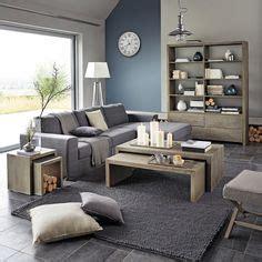 Salon Contemporain De Style Rustique En 55 Id 233 Es