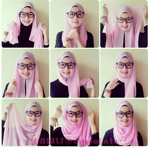 tutorial pashmina jaman sekarang quick simple hijab tutorial for school ideas hijabiworld