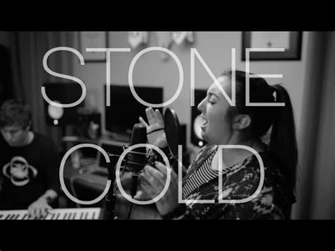 demi lovato stone cold studio version stone cold demi lovato cover madison lawrence youtube