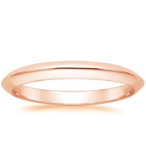 classic wedding ring in 14k gold
