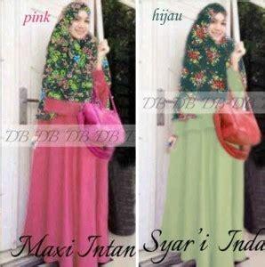 Intan Syari Dress by Baju Muslim Intan Syari G820 Bajugamisku
