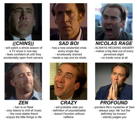nicolas cage finds cage rage memes frustrating