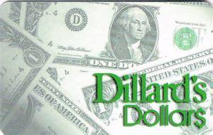 Dillard Gift Card - gift card dillard s dollars dillard s united states of america col us dillard s 004a