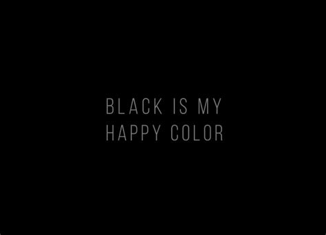 what color is happy black is my happy color designer t shirts likoli