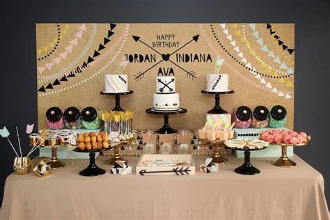 party themes modern kara s party ideas modern aztec birthday party kara s