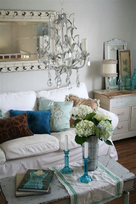 heather kowalski s beautiful shabby rustic cottage chic living room pinpoint