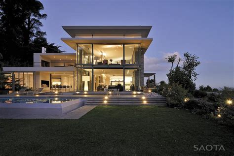 modern villa world of architecture modern villa montrose house by