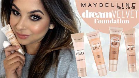 Maybelline Velvet maybelline velvet foundation review tutorial