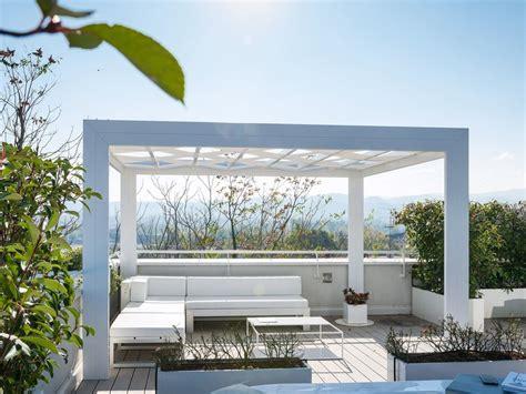 frigerio tende da sole pergolato autoportante in alluminio con illuminazione