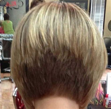 high stacked layer bob bobs hairstyles and bob back view on pinterest