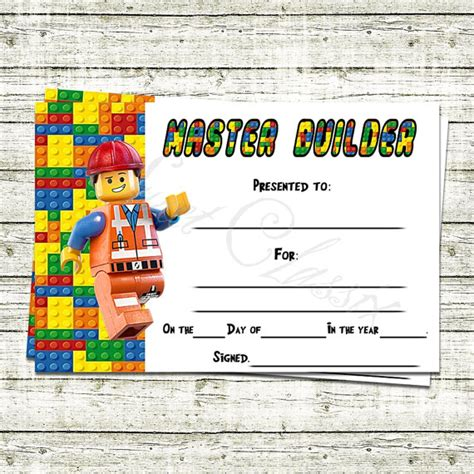 the master builder themes analysis lego master builder certificate black friday lego