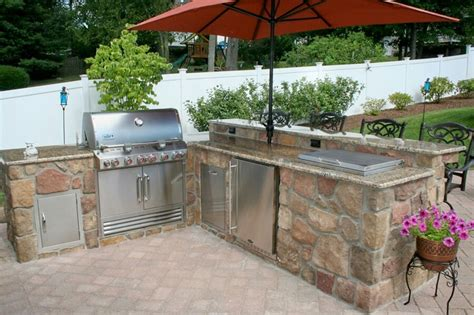 backyard grill area ideas 29 cool outdoor barbeque areas digsdigs