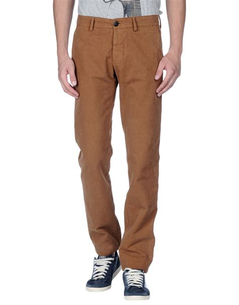 D Island Casual island casual trouser in brown for lyst