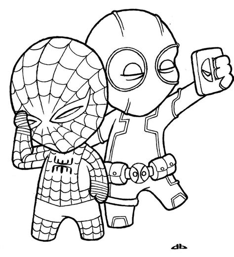 Coloring Page Deadpool by Deadpool Coloring Pages Printable Az Coloring Pages