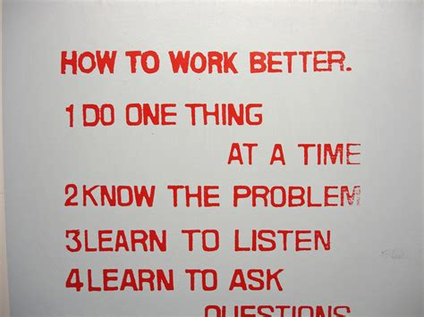 how to get to a better how to work better part of the fischli weiss