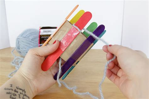 diy knitting loom how to diy a knitting loom knit with it