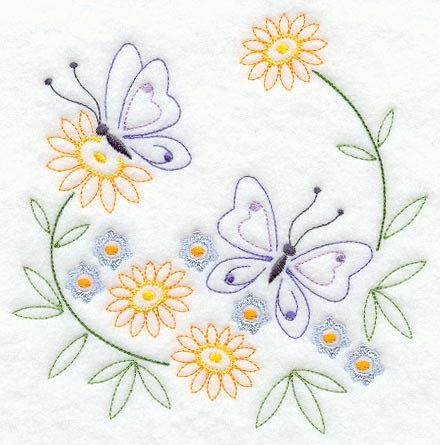 free butterfly hand embroidery machine embroidery designs at embroidery library