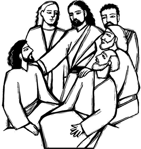 first reconciliation coloring page coloring pages
