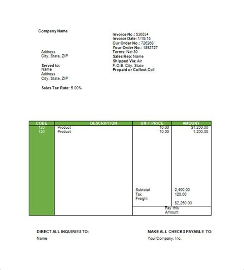 bill book format in word for invoice template unique travel agency