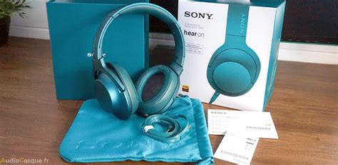 Sony 100 Aap sony mdr 100aap h ear on test le casque hi res