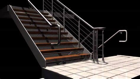 industrial stairs rendering of industrial stairs