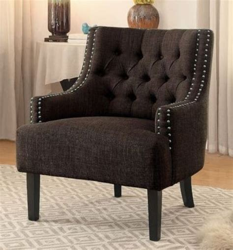chocolate accents charisma chocolate accent chair from homelegance coleman furniture
