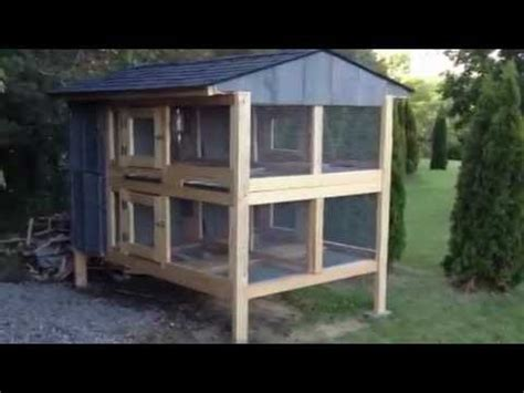 Canadian Rabbit Hutch canadian rabbit hutch 4hole part two rabbits