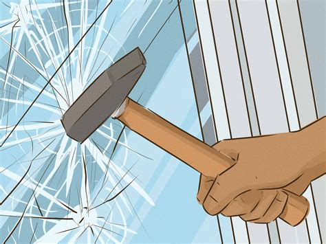 how to break in a house window 5 ways to break into your house wikihow