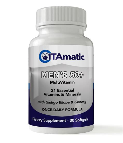 best vitamin brand vitamatic mens 50 multivitamin reviews