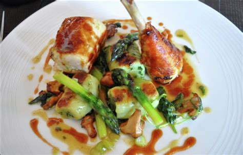 chicken course dishes kent s michelin starred the west house thecriticalcouple