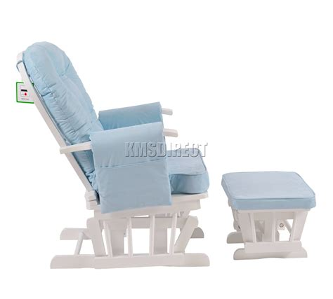 white nursing chair ebay foxhunter nursing glider maternity rocking chair with