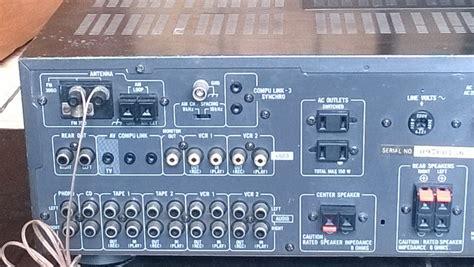 jual home theater amplifier av receiver jvc rx  japan