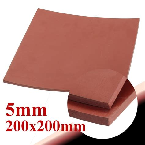 Silicone Rubber Karet Silikon Sheet 5mm 30 X 100 Cm buy wholesale vacuum press silicon sheet from china vacuum press silicon sheet
