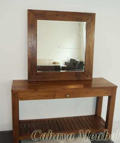 Meja Rias Kayu Jati Minimalis meja rias minimalis furniture jati jepara meja rias