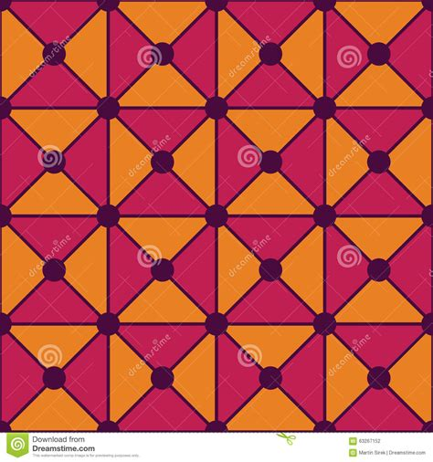 svg pattern color vector modern seamless colorful geometry triangles dots