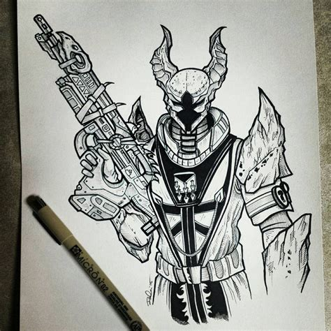 Destiny 2 Sketches by Koboneart