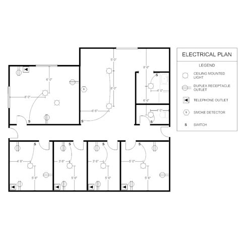 electrical floor plan software office electrical plan