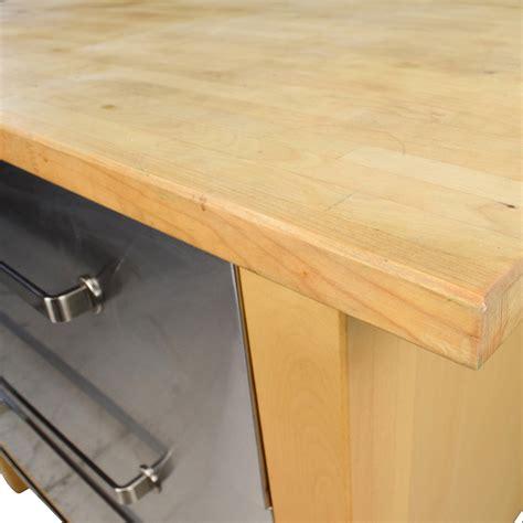 62% OFF   IKEA IKEA Varde Kitchen Butcher Block Island