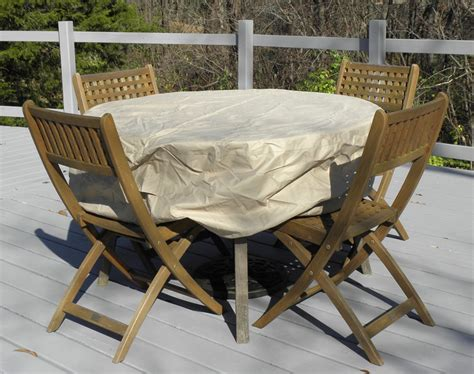 Classic Accessories Round Patio Table Cover Up To 50 Quot In Patio Table Accessories
