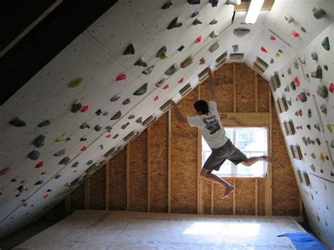 25 best ideas about home climbing wall on
