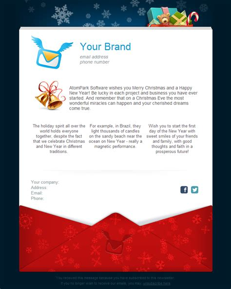 christmas email themes free christmas email templates for free 2014 from atompark