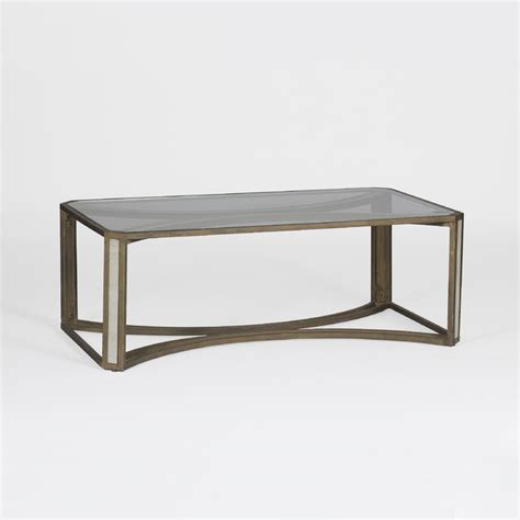 camille coffee table transitional coffee tables