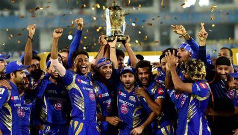 ipl teams 2017 mumbai indians won ipl 2017 final trophy and prize money
