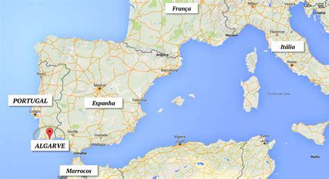 Porches Algarve Map by Porches Algarve Portugal