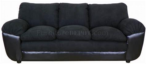 black fabric sofa set black fabric and vinyl modern sofa loveseat set w options