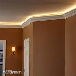 led leiste decke how to install cove lighting the family handyman