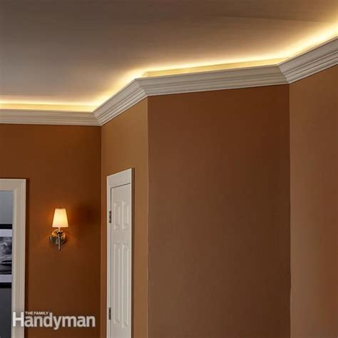 bedroom cove lighting how to install elegant cove lighting the family handyman