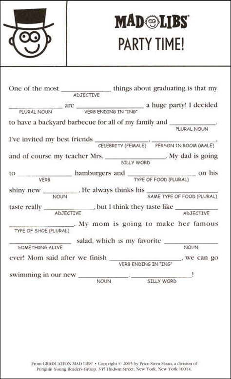 mad lib template 25 best ideas about mad libs on fill in mad