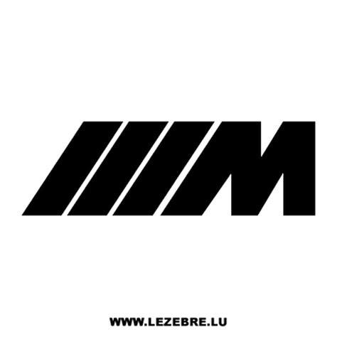 M M Stickers bmw m series decal 3