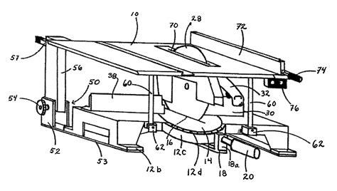 circular saw to table saw conversion kit patent us7891277 convertible circular saw apparatus